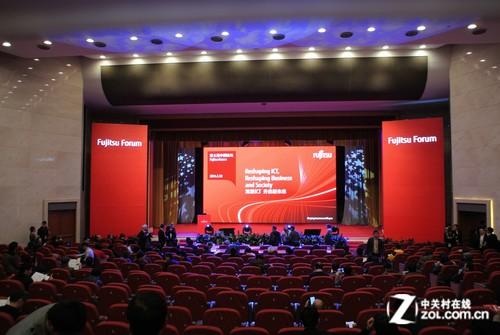 富士通中国论坛开幕 三款电脑新品登场