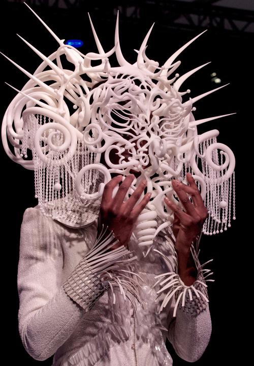 镂空雕刻系列作品亮相纽约3d打印展