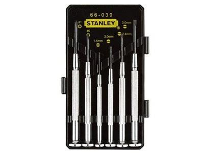 史丹利 6件套金属精密螺丝刀(66-039)