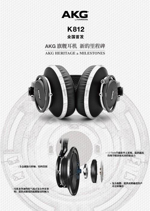AKG新款万元旗舰K812  3月8日全国首发销售