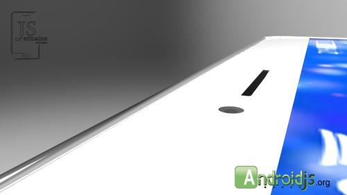 6概念设计图 4.7吋大屏极窄边框