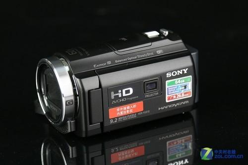 超强防抖内置投影 索尼HDR-PJ610E图赏