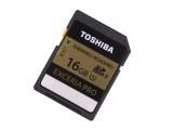 东芝极至超速EXCERIA PRO UHS-II SDHC卡(16GB)