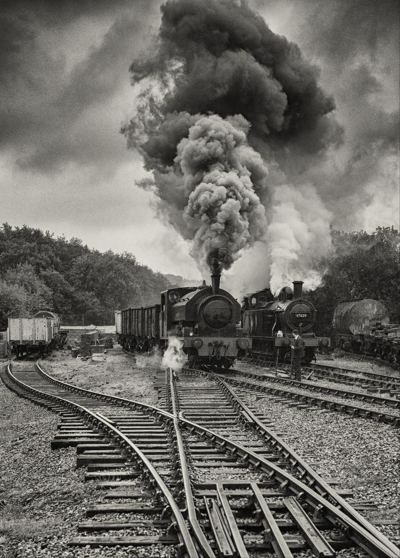浓浓怀旧风 离我们远去的蒸汽机车影像
