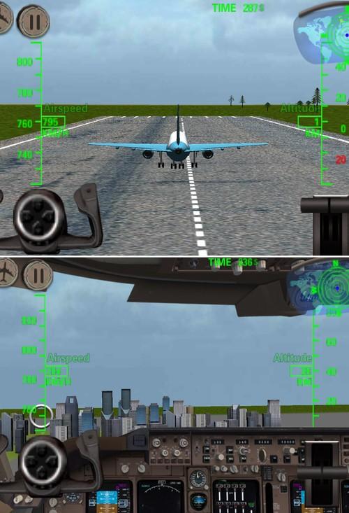 4.22安卓游戏:驾驶固定翼飞机翱翔蓝天