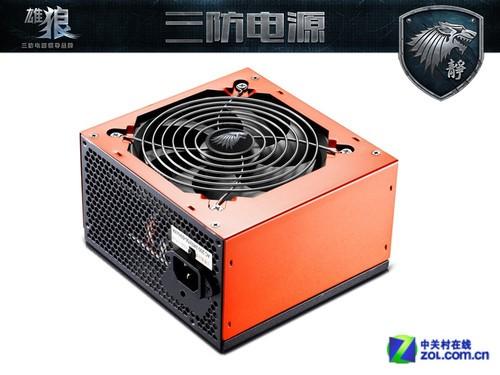 待机功耗≤1W 狼牌静狼550W电源超节能