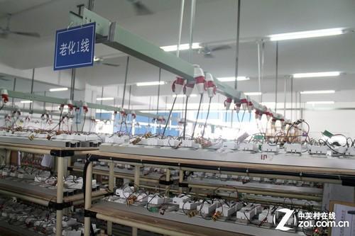 品胜生产车间和产品展示