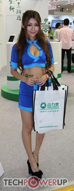 台北电脑展又一大波妹子来袭 130张ShowGirl美图一网打尽的照片 - 55