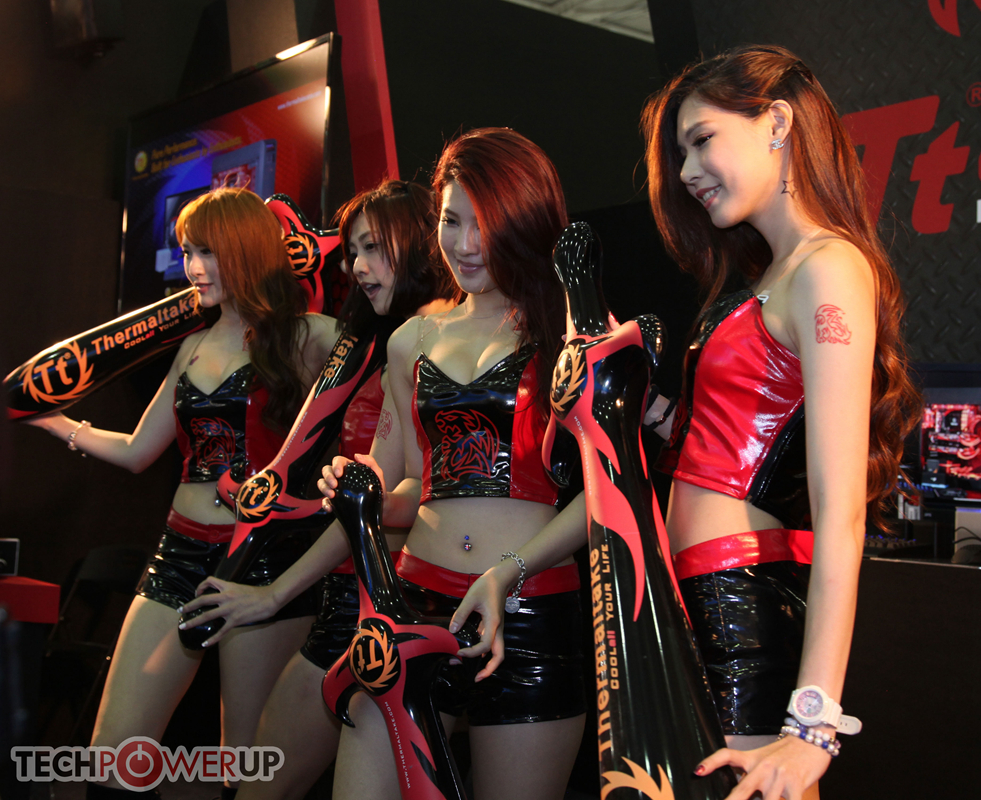 台北电脑展又一大波妹子来袭 130张ShowGirl美图一网打尽的照片 - 1