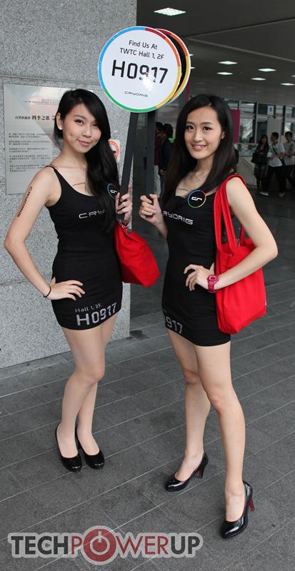 台北电脑展又一大波妹子来袭 130张ShowGirl美图一网打尽的照片 - 108