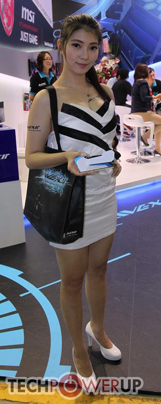 台北电脑展又一大波妹子来袭 130张ShowGirl美图一网打尽的照片 - 128
