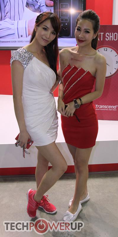 台北电脑展又一大波妹子来袭 130张ShowGirl美图一网打尽的照片 - 24