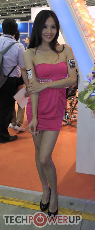 台北电脑展又一大波妹子来袭 130张ShowGirl美图一网打尽的照片 - 28