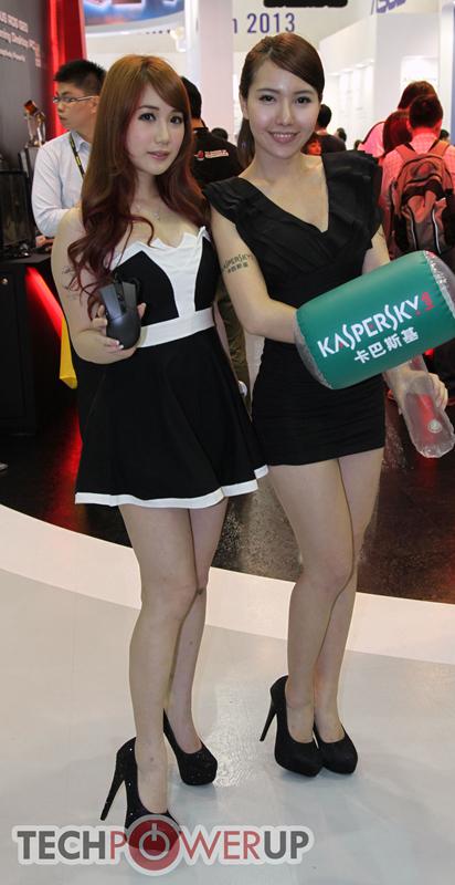 台北电脑展又一大波妹子来袭 130张ShowGirl美图一网打尽的照片 - 30