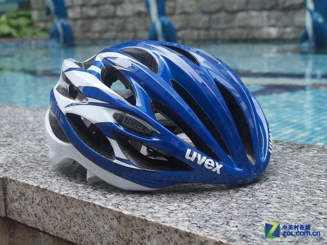 双膜一体成型 德国UVEX race 1头盔赏析