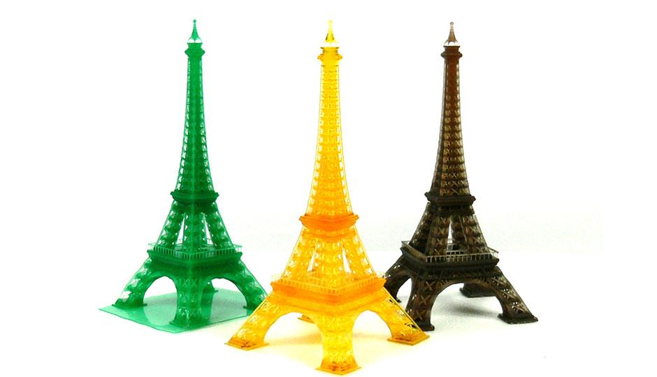 3d打印埃菲尔铁塔模型