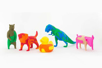 熊孩子智力开发新玩具 3D打印立体拼图