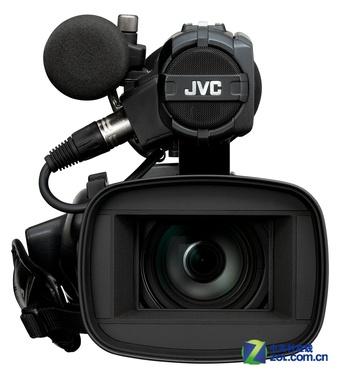 无线连接新闻专业机 JVC GY-HM650图赏