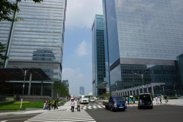 韩国三星帝国总部 数字城市