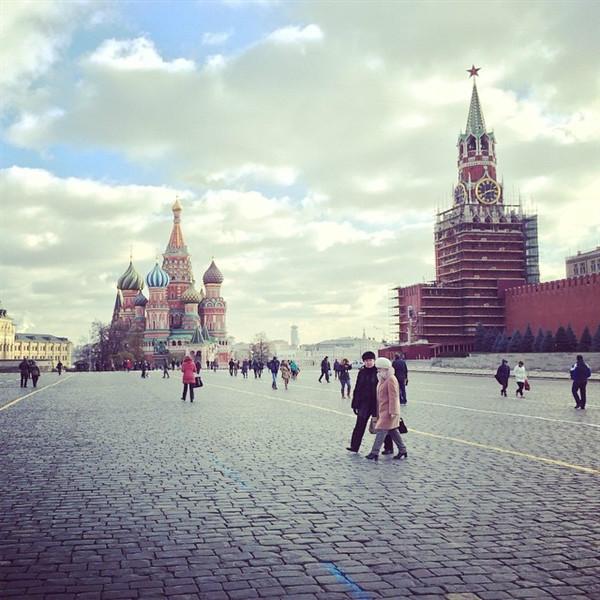 第7名——莫斯科红场