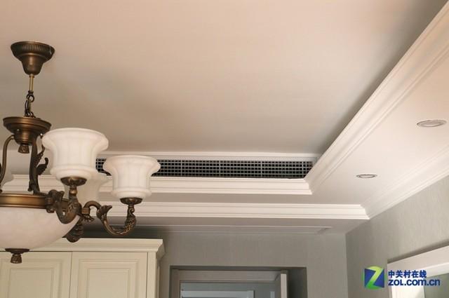 在家居装修之前,需要先将中央空调安装完毕