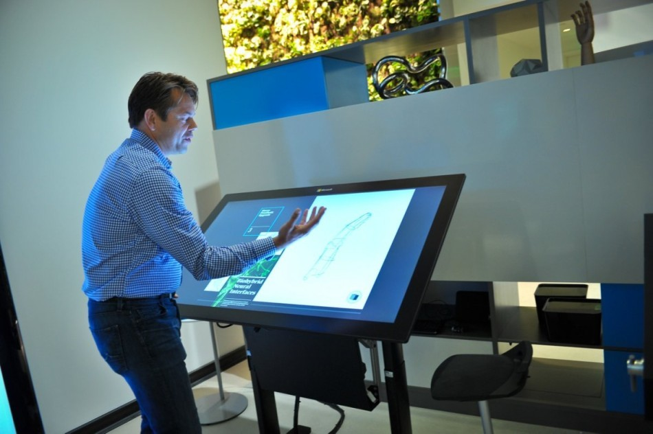 微软未来之家 神秘科技产品皆为触控