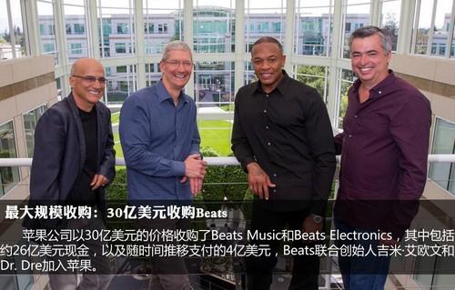 2014年 苹果公司经历了这些大事件