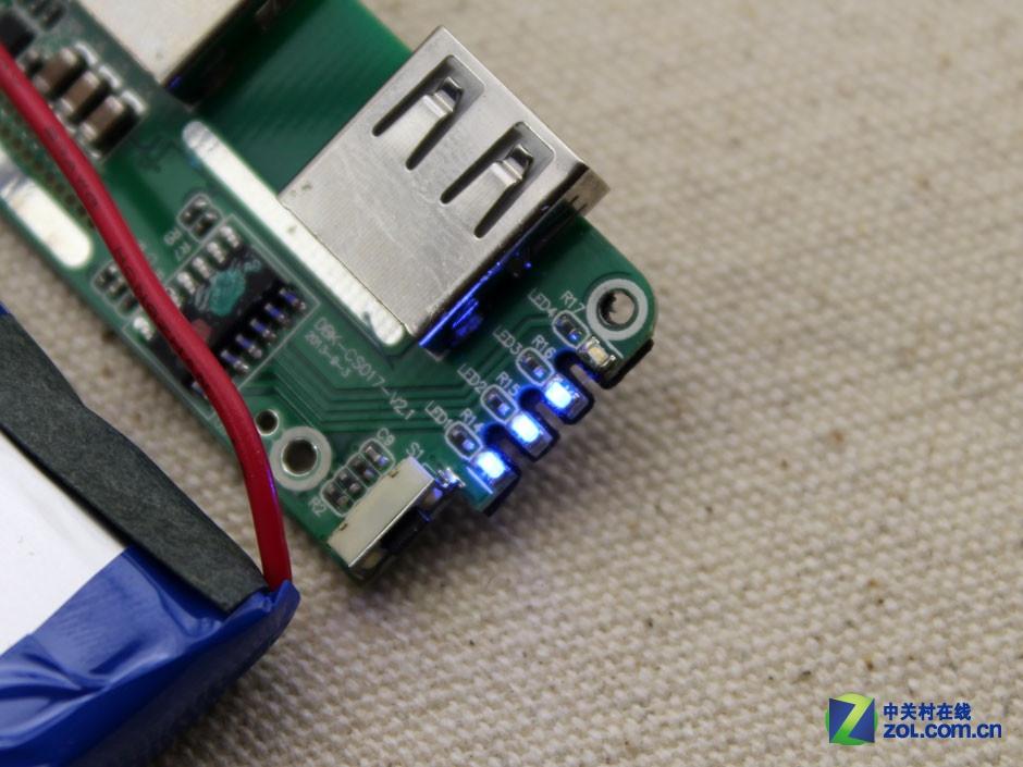 聚合物电芯 忆捷c6充电宝暴力拆解赏析