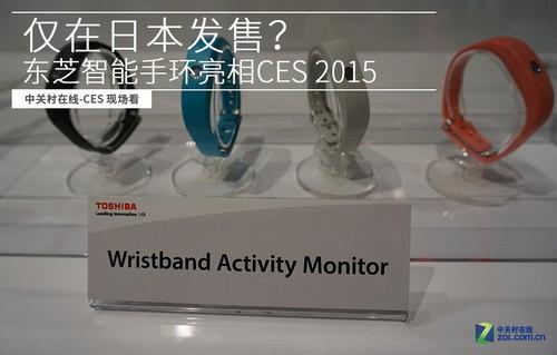仅在日本发售 东芝智能手环亮相CES2015