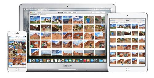iPhoto被取代 Mac全新OS X照片应用发布