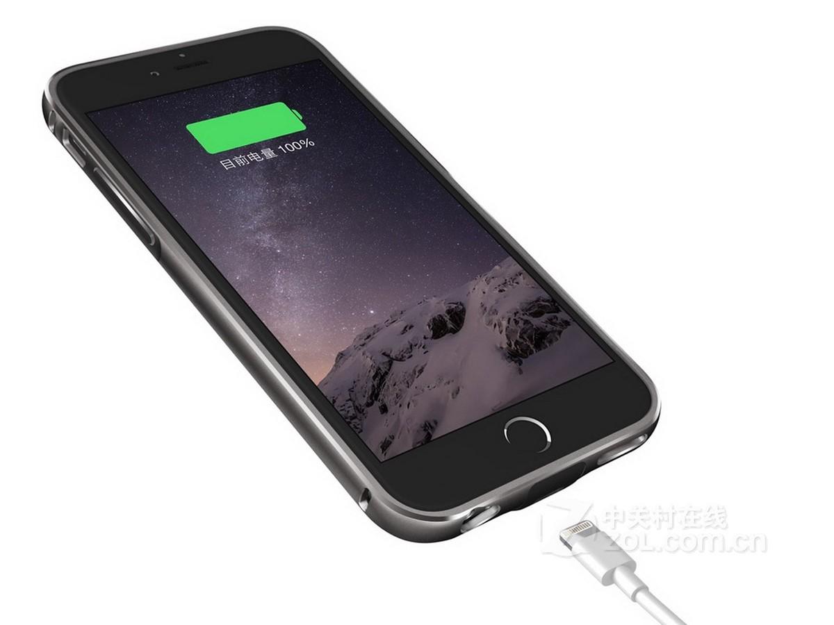 【高清图】 酷壳(kuke)苹果iphone6充电智能手机壳(经典款)效果图 图