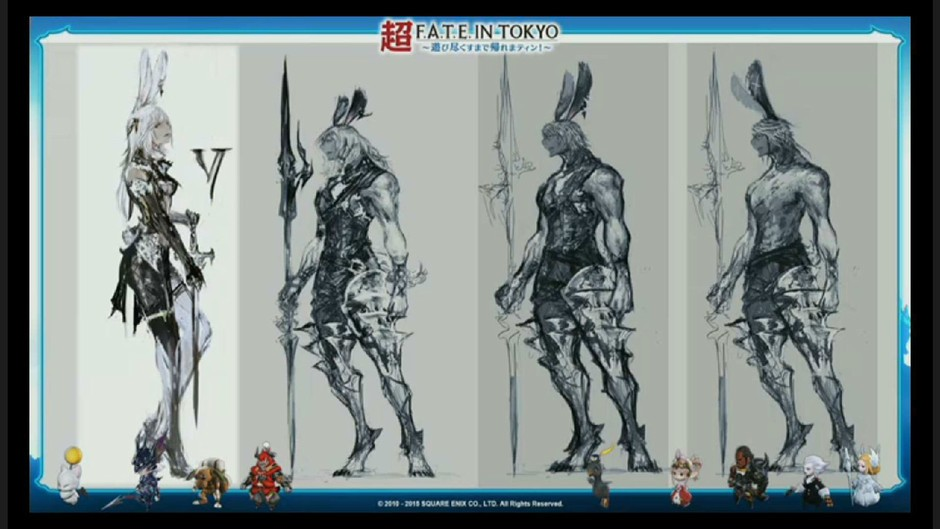 《最终幻想14》最新资料片设计原稿图赏-第12页-游戏