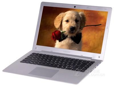 神舟 优雅 超薄本 限时特价XS-5Y10S1 14英吋笔记本(Core M-5Y10c 4G 128GB HD5300)银色