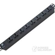 克莱沃(CLEVER)  PDU机柜专用电源插座8位万用插孔3米10A pdu机柜插座