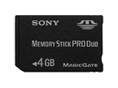 索尼 Memory stick Pro Duo(4GB)