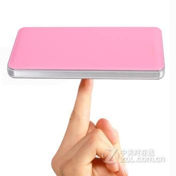 汉尼 超薄充电宝 通用移动电源 20000毫安 i50000 粉红色