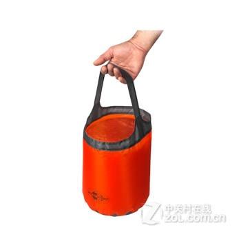 拎便携折叠水桶