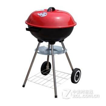 【17寸四脚苹果炉户外运动烧烤炉欧式便携烧烤架