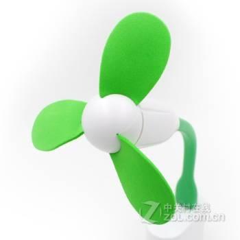 【高清图】 黑柚子(blackpomelo)创意usb风扇 竹蜻蜓手持便携小风扇