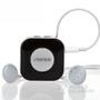 Seenda蓝牙耳机立体声音乐入耳式蓝牙接收器NFC蓝牙运动跑步耳机 黑色