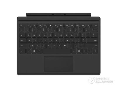 微软 Surface Pro 4键盘盖 带背光的机械键盘,适用于surface pro3