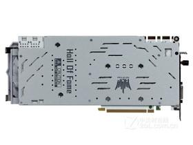 影驰GeForce GTX 1080名人堂限量版背面