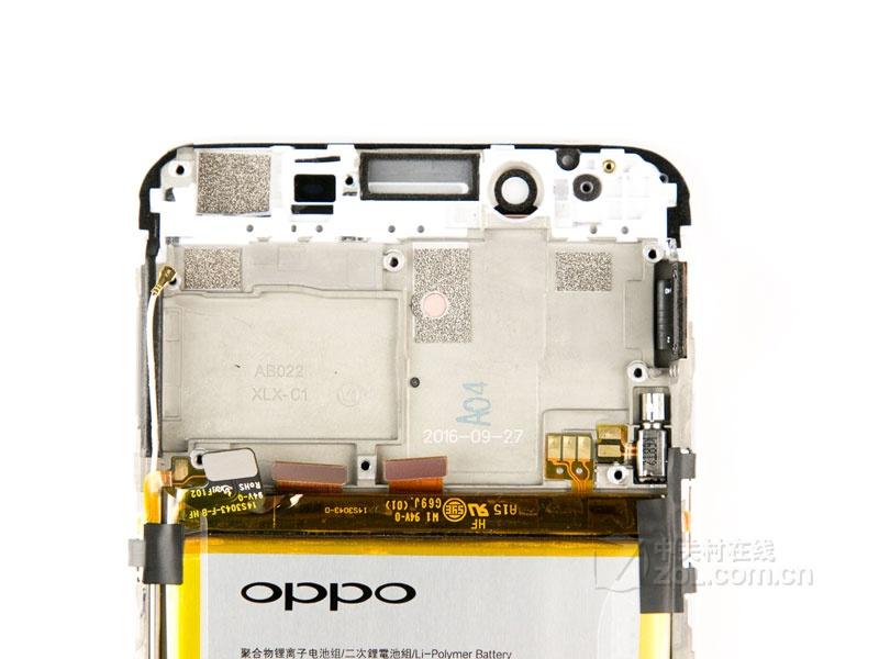 【高清图】 oppo(oppo)r9s(全网通)拆机图 图79
