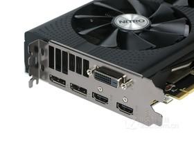 蓝宝石RX 470D 4G D5 超白金 OC显示输出接口