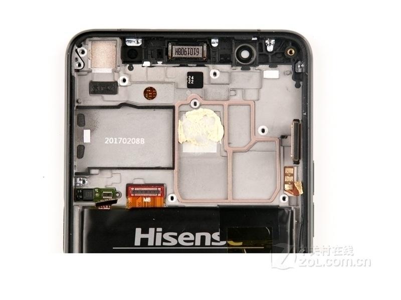【高清图】 海信(hisense)双屏手机a2(全网通)拆机图 图14