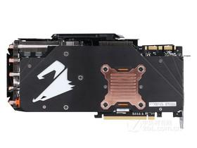 技嘉AORUS GTX 1080Ti Xtreme Edition 11G背面
