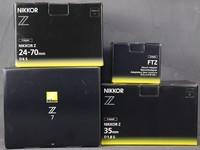 尼康全画幅微单Z7一机两镜到站开箱图