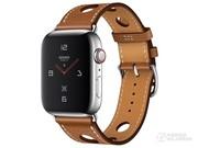 Apple Watch Hermès Series 4(Single Tour粒面皮革表带)