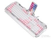 新盟 x10曼巴狂蛇复古朋克混彩少女版键盘(青轴)