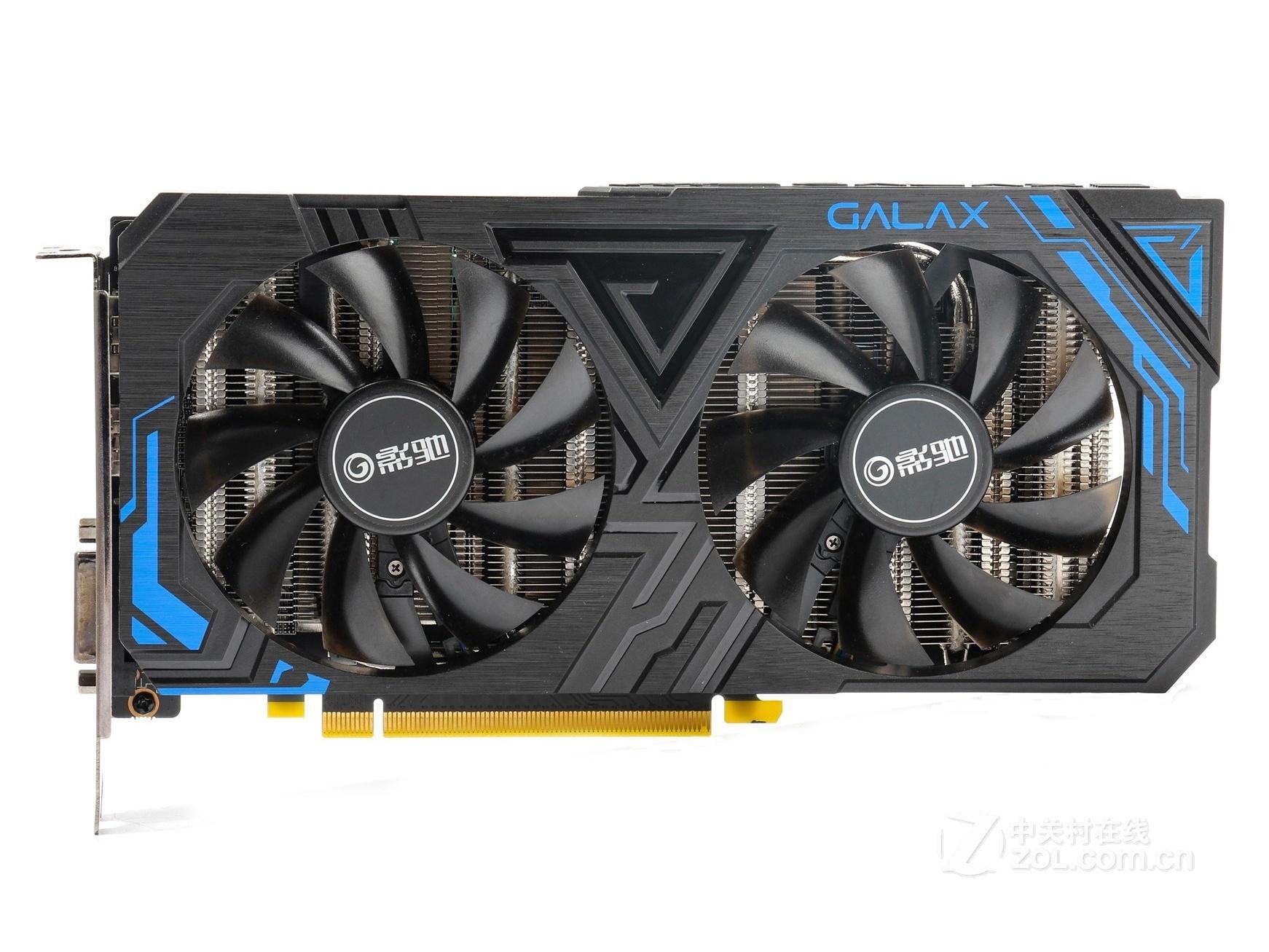 影驰 GeForce RTX 2060 大将 黑色